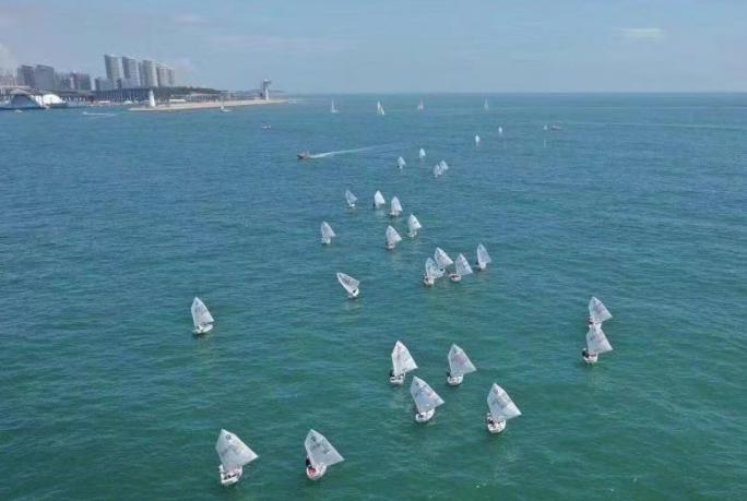 2019青岛国际OP帆船营比赛异彩纷呈