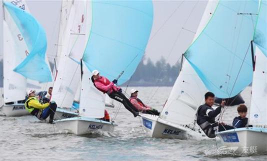 军运会帆船测试赛5月3日在武汉东湖完美收官!