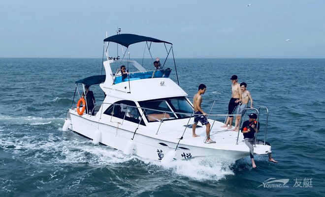蓝之悦36尺定制游艇包船出海体验