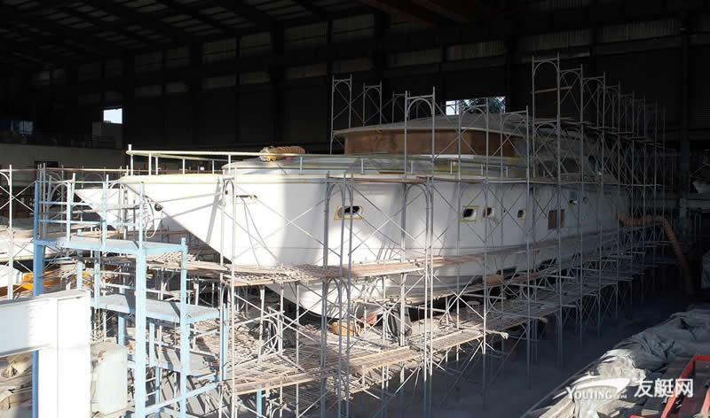 强生开始建造第九艘 Johnson 80 游艇