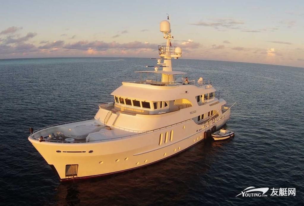 34.7 米长的 Moonen 游艇 Beluga